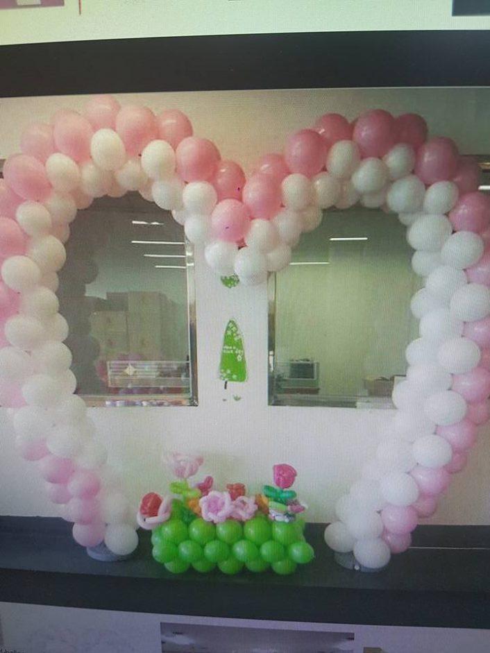 Heart Shaped Balloon Formation