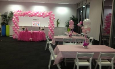 pink balloon kids