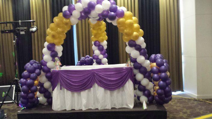 Balloon Arch Purple